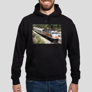 Railway Locomotive, Grand Canyon, Ar Hoodie (dark)