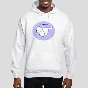Just Like A Dog Hooded Sweatshirt