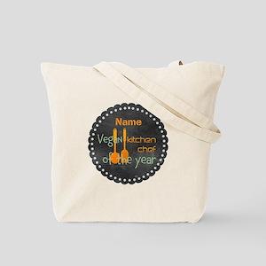 Vegan Cook Badge Tote Bag