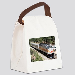Railway Locomotive, Grand Canyon, Canvas Lunch Bag
