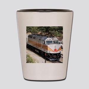 Railway Locomotive, Grand Canyon, Arizo Shot Glass