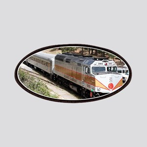Railway Locomotive, Grand Canyon, Arizona, U Patch