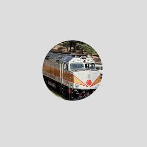 Railway Locomotive, Grand Canyon, Ariz Mini Button