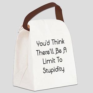 No Limit Canvas Lunch Bag