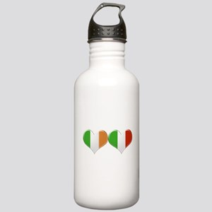 Irish and Italian Hear Stainless Water Bottle 1.0L
