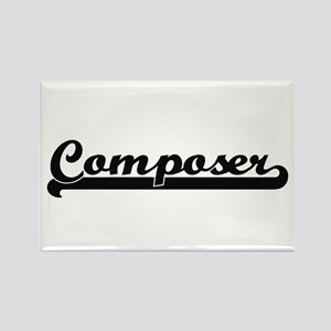 Composer Artistic Job Design Magnets