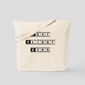 Best Client Tote Bag