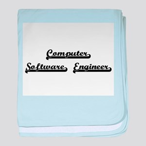 Computer Software Engineer Artistic J baby blanket