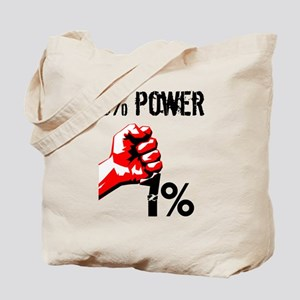 99% Power Occupy Tote Bag