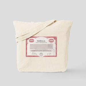 WorldCom Stock Tote Bag