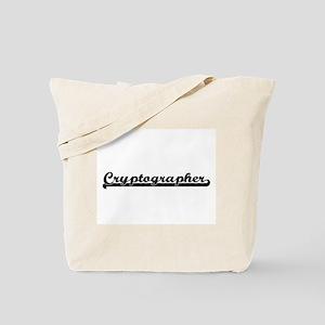 Cryptographer Artistic Job Design Tote Bag