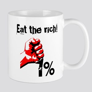 Funny Eat The Rich Occupy Mugs