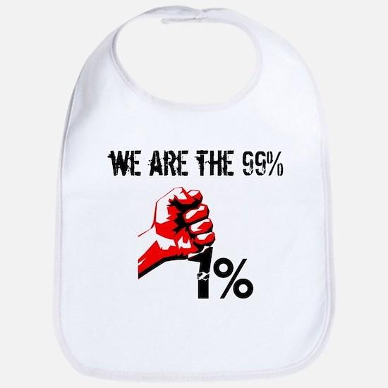 We Are The 99% Occupy Bib