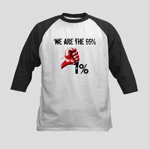 We Are The 99% Occupy Baseball Jersey