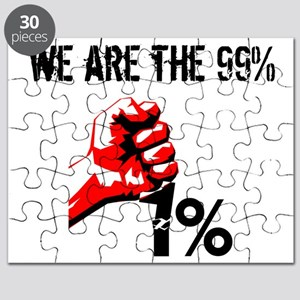 We Are The 99% Occupy Puzzle