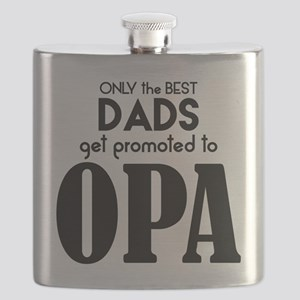 BEST DADS GET PROMOTED TO OPA Flask