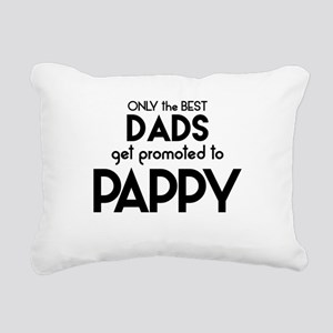 BEST DADS GET PROMOTED TO PAPPY Rectangular Canvas