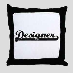 Designer Artistic Job Design Throw Pillow