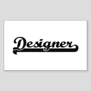 Designer Artistic Job Design Sticker