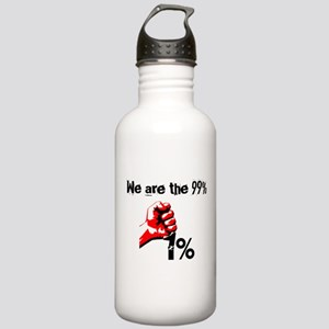 We Are The 99% Occupy Stainless Water Bottle 1.0L