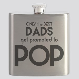 BEST DADS GET PROMOTED TO POP Flask
