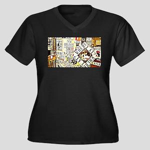 words Plus Size T-Shirt