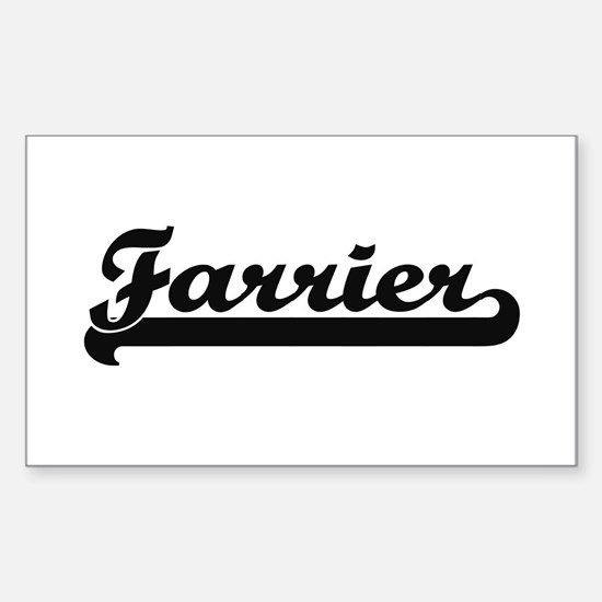 Farrier Artistic Job Design Decal