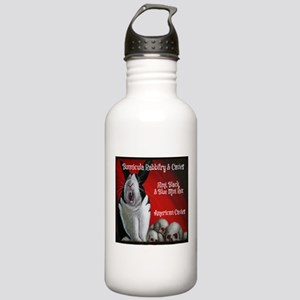 Bunnicula Rabbitry Cavies Logo 2013 Water Bottle