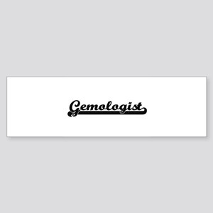 Gemologist Artistic Job Design Bumper Sticker