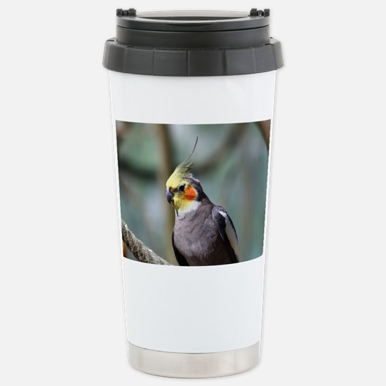 Cockatiel Stainless Steel Travel Mug