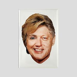 Billary Clinton Rectangle Magnet