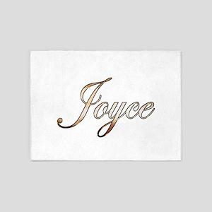 Gold Joyce 5'x7'Area Rug