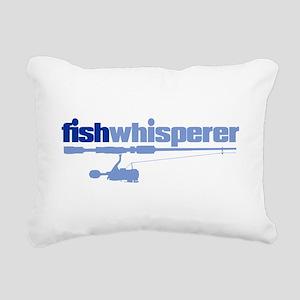 fishwhisperer Rectangular Canvas Pillow