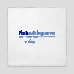 fishwhisperer Queen Duvet