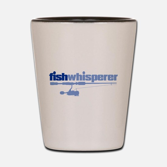 fishwhisperer Shot Glass