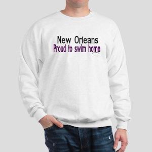 NOLA Proud To Swim Home Sweatshirt