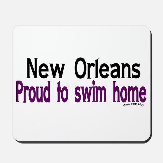 NOLA Proud To Swim Home Mousepad