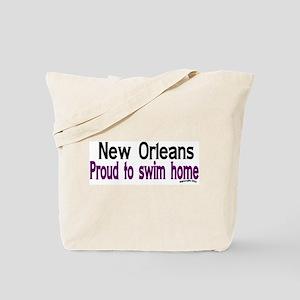 NOLA Proud To Swim Home Tote Bag