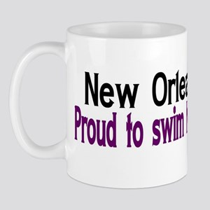 NOLA Proud To Swim Home Mug