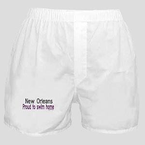 NOLA Proud To Swim Home Boxer Shorts