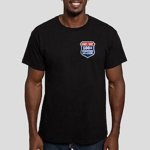 100 KC-135 MSN Men's Fitted T-Shirt (dark)