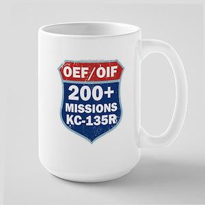 200 Msn KC-135 Large Mug