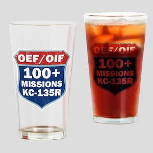 100 KC-135 MSN Drinking Glass