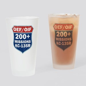 200 Msn KC-135 Drinking Glass