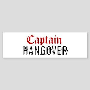 Captain Hangover Bumper Sticker