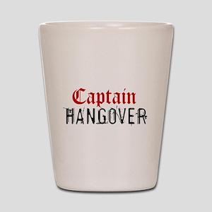 Captain Hangover Shot Glass