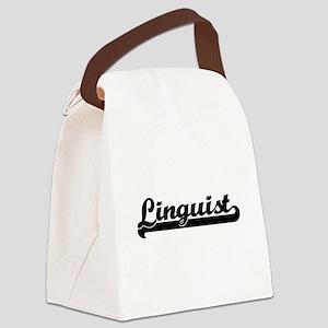Linguist Artistic Job Design Canvas Lunch Bag