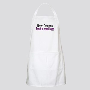 NOLA Proud To Crawl Home BBQ Apron