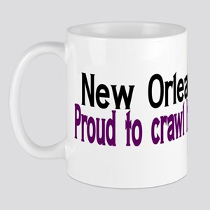 NOLA Proud To Crawl Home Mug