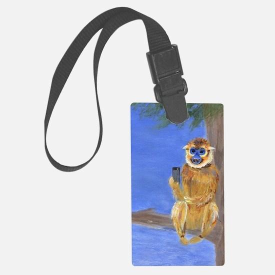Sammy the Monkey Luggage Tag